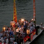 大阪天神祭アクセス、花火、屋台、穴場、混み具合